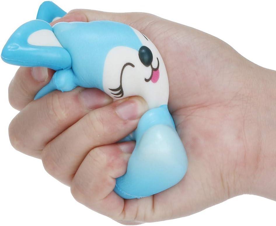 Clode Squishies Toy Kawaii Fox Cr/ème Rising Ralenti Parfum/ée Soulagement du Stress Jouets Cadeaux A