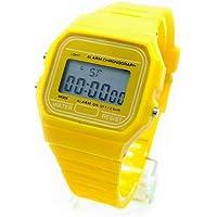 BDM Reloj clásico Casiopea Original para Hombre Mujer, niña o niño de Pulsera Digital con Alarma. Un Regalo Vintage.