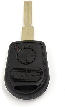 uxcell 3 BTN Remote Key Case Fob Uncut Blade for BMW E31 E32 E34 E36 E38 E39 E46 Z3