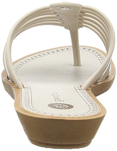 Grendha Strings Thong Fem - Sandalias de dedo Mujer Blanco - Weiß (white 8285)