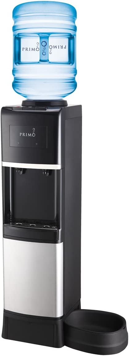 Primo – Easy Top Loading Water Dispenser – Stainless Steel – Pet Station
