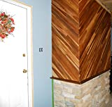 """tongue and groove ceiling 84"""" long TEAK WOOD Tongue & Groove- 40 square feet, real teak, nicely milled"""