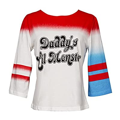 HQ Daddy's Lil Monster Girl's T-shirt Halloween Women's Costume