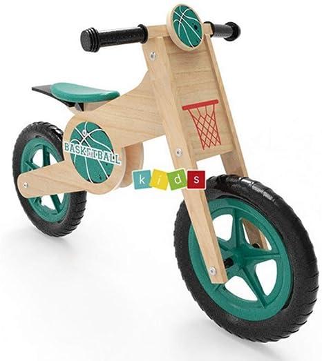 Bicicleta Equilibrio 4 AñOs, Madera Ligero FormacióN Ciclo para NiñOs Bebe NiñAs NiñOs Primer Regalo De CumpleañOs: Amazon.es: Deportes y aire libre