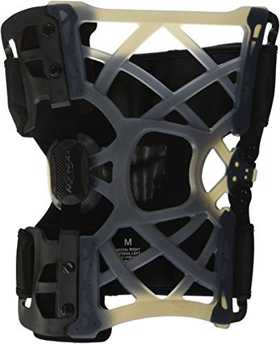 Components Bow Left (DonJoy OA (Osteoarthritis) Reaction WEB Knee Support Brace: Medial Right/Lateral Left, Medium)