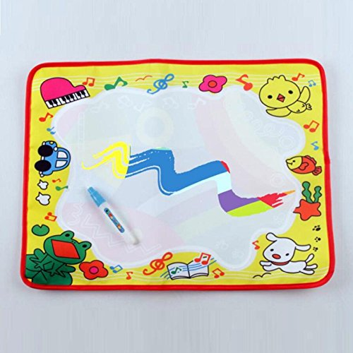 Price comparison product image Owill Water Painting Writing Mat Board Kids Doodle Gift For Learning Drawing Etc (A, Multicolor)