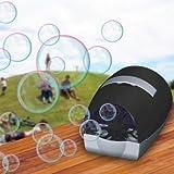 Bubble Blower Maker Disco Party Toy Bubble Machine (Black)