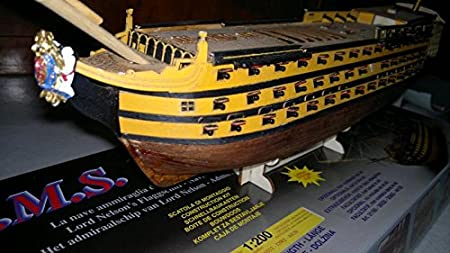 HMS VICTORY WOODEN MODEL SHIP KIT 1:200 500 MM LONG