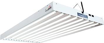 agrobrite flt48 t5 fluorescent grow light system 4 foot 8 tube