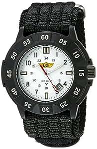 Uzi Caballero Uzi-002-N The Protector Tritium H3 Black Nylon Strap Reloj