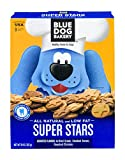 Blue Dog Bakery Natural & Low-Fat Dog Treats, Assorted Flavors, 10oz (Pack of 6)