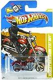 Best Mattel Kids Motorcycles - Hot Wheels 2012 New Models Harley Davidson Fat Review
