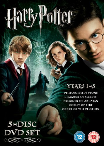 Harry Potter Years 1-5 Box Set [DVD]