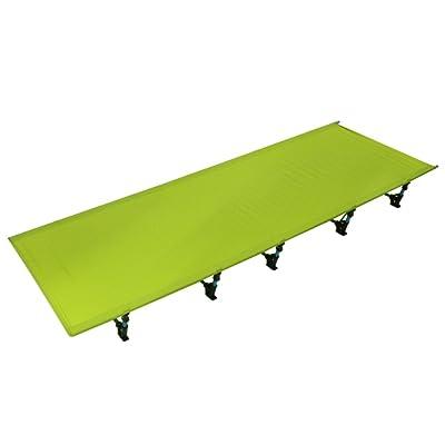 Lit de Camping Portable et Démontable en Alliage d'aluminium Charge de Poids 200