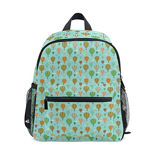 (Roar Mint Green 1Rst Birthday Balloons 10 Inch Kid's Backpack, Toddler Backpack, Pre-School Kindergarten Toddler Bag, Perfect for School or Travel&Daycare for Teen Boys and)