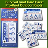 Pro-Knot Survival Knot Tying Reference Cards