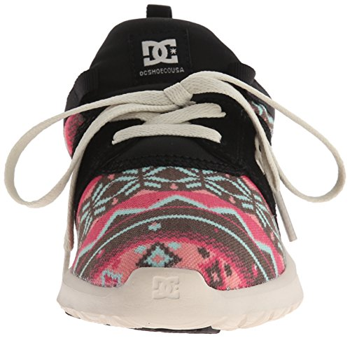 DC Shoes Heathrow se Skate zapatos Black Graphic