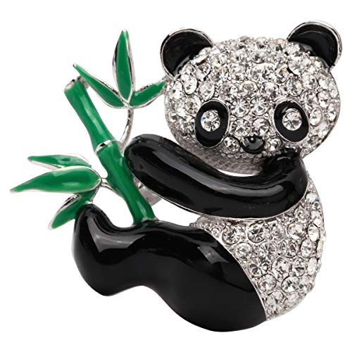 (Hiddleston Panda Baby Bamboo Brooch Pin Lapel Cosplay Party Accessory Costume Jewelry Women Kid)