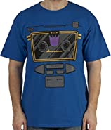 80sTees Men's Transformers Soundwave Costume T-Shirt