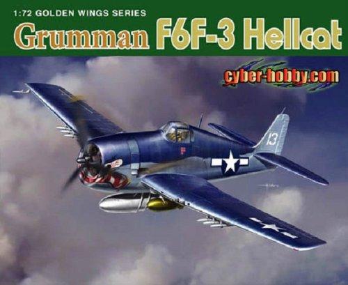 (Cyber Hobby 1/72 Grumman F6F-3 Hellcat - Wing Tech Series)