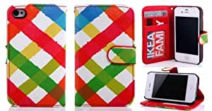 iPhone 5S leather case, iPhone 5 cases, iphone 5 wallet and case, Gotida 5S-G005 Tribal Design PU leather Wallet PU Leather Case Card Holder Flip Case Cover for iPhone 5S, iPhone 5 leather case, iphone 5 wallet case
