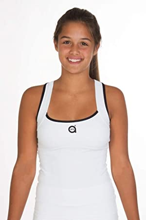 a40grados Sport & Style, Camiseta Trass Blanca, Mujer, Tenis y ...