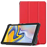 MChoicefor Samsung Galaxy Tab A 8.0 2018 SM-T387 Verizon/Sprint Case Slim Shell Cover (red)