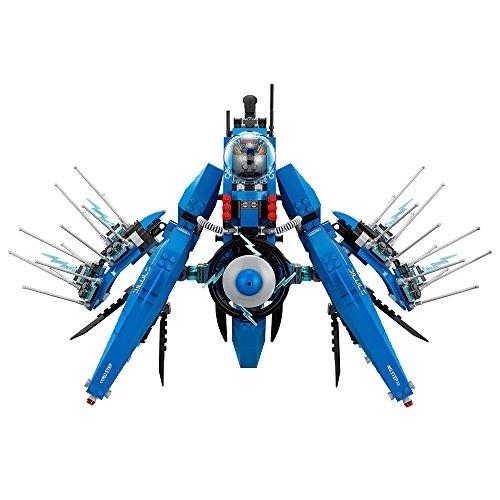 51qVBYTCeLL - LEGO Ninjago Movie Lightning Jet 70614 Building Kit (876 Piece)