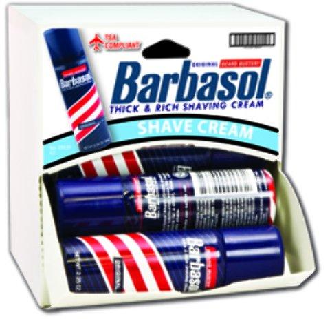 Barbasol Shaving Cream Dispensit Case 144 pcs sku# 1865452MA