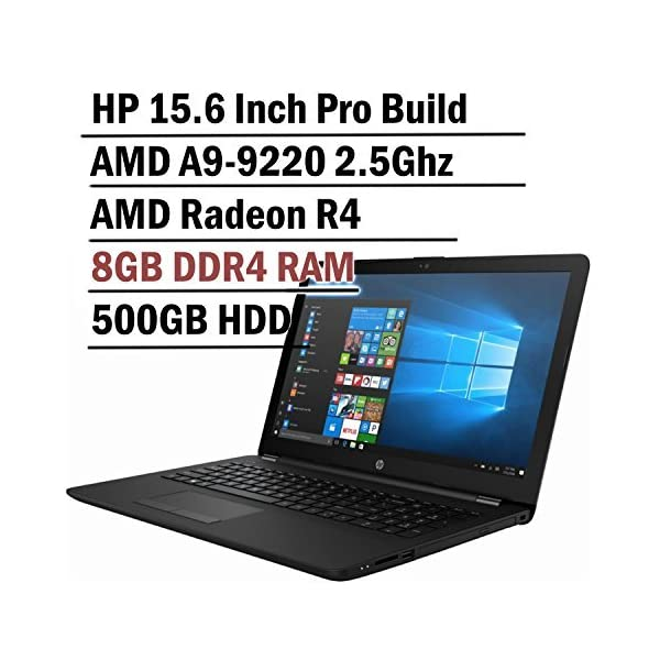 "Lastest_HP Premium 15.6"" Laptop AMD A6 Processor, 4GB RAM, AMD Radeon R4 Graphics, 1TB HD, DVD/RW, Bluetooth, Windows 10 1"