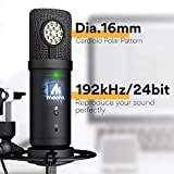 USB Microphone with Studio Headphone Set