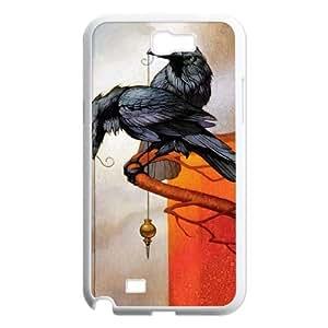 YAYADE Phone Case Of Dark crow For Samsung Galaxy Note 2 N7100