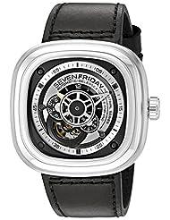 SevenFriday Men's P1B-1 Industrial Essence Black Watch