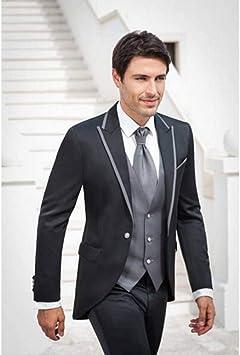 GFRBJK Moda Hombres Traje Padrinos de Boda para Hombre Trajes de ...