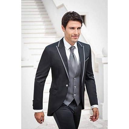 GFRBJK Moda Hombre Traje Padrinos de Boda para Hombre Trajes de ...