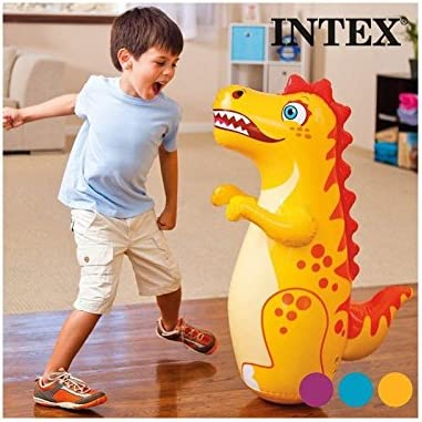 Hinchable Tentetieso Animales Intex Diseño: Dinosaurio -: Amazon ...