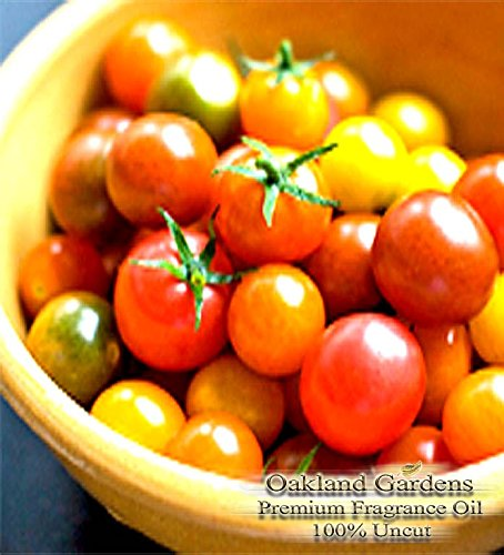 BULK Fragrance Oil - TOMATO FRAGRANCE OIL - garden-fresh fragrance smells like a fresh tomato - By Oakland Gardens (120 mL - 4.0 fl oz Bottle) by Oakland Gardens Wedding & Home Decor