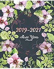 2019-2021 Three Year Planner: Purple Blooms Cover for Monthly Schedule Organizer 36 Months Calendar Agenda Planner with Holiday