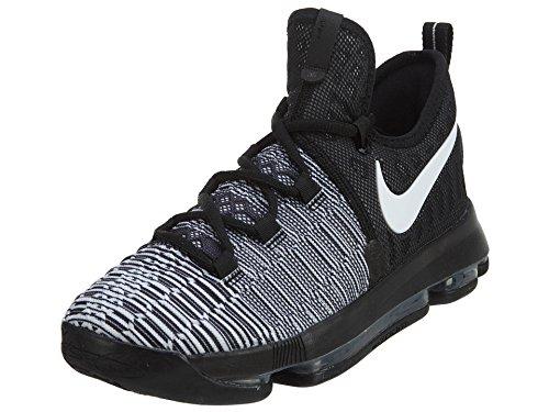 Zoom Basket Nike Black Kd9 Bianco Uomo Nero GS da White Scarpe dxn44qw8Xr