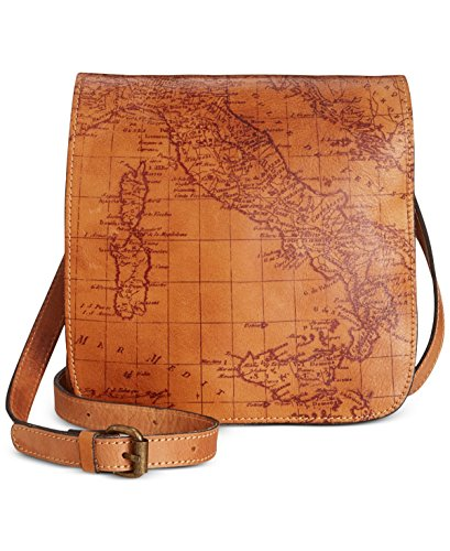 Patricia Nash, Borsa a tracolla donna marrone Map