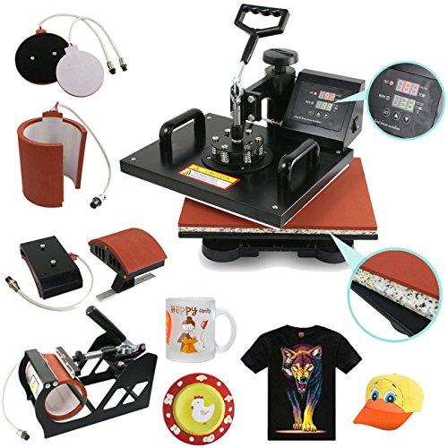 SegaweDigital Transfer Sublimation Heat Press Machine by Segawe
