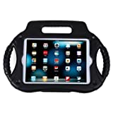 HDE iPad Mini Case Kids Shock Proof Steering Wheel Cover with Stand for Apple iPad Mini / Mini 2 / Mini 3 / Retina (Black)