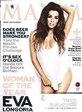 Eva Longoria, A.J. Cook, Edy Ganem, Jessica Parker Kennedy, Rebecca Garcia, Charles Barkley - Maxim Magazine