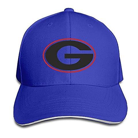 Georgia Bulldogs Uga Hairy Dawg Kirby Smart Crazy Sanwich Snapback Hats Cap (Georgia Blues Dawgs)