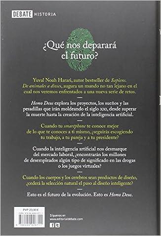 Amazon.com: Homo Deus (Spanish Edition) (9788499926711 ...
