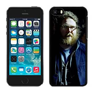 Beautiful Designed Cover Case With Manchester Orchestra Band Light Glasses Beard For iPhone 5C Phone Case