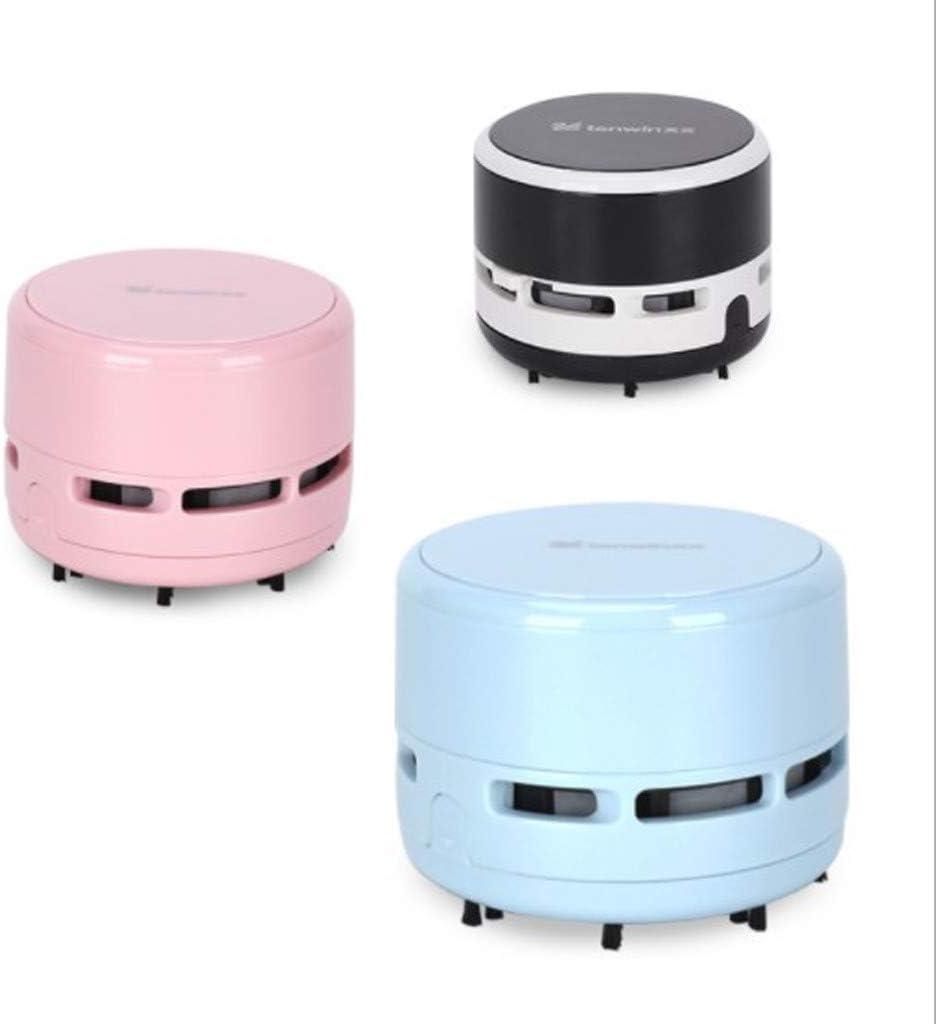 Black Kecar Mini Vacuum Cleaner Battery Powered Portable Handheld Crumb Desktop Sweeper Office Desk Dust Home Table Cleaner Useful