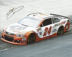 For your viewing pleasure: AUTOGRAPHED 2017 Chase Elliott #24 Little Caesars Pizza Team BRISTOL MOTOR SPEEDWAY (On-Track Racing) Monster Energy Cup Series (Hendrick Motorsports) 8X10 inch NASCAR Photo. This beautiful glossy picture was hand-s...