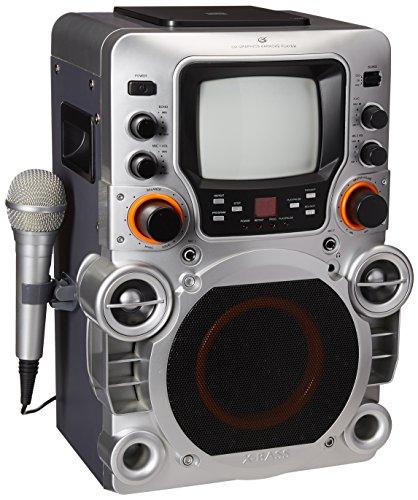 GPX JM250S Karaoke System (Top Load Cdg Karaoke Machine)