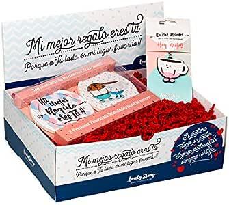 Pack DE Regalo Surtido Lovely Box con Caja Posavasos IMANTADO + ...